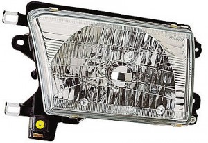 1999-2002 Toyota 4Runner Headlight Assembly - Left (Driver)
