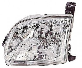 2000-2004 Toyota Tundra Pickup Headlight Assembly (except Double Cab) - Left (Driver)