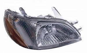 2000-2002 Toyota Echo Headlight Assembly - Right (Passenger)