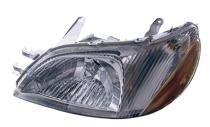 2000 - 2002 Toyota Echo Front Headlight Assembly Replacement Housing / Lens / Cover - Left (Driver)