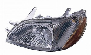 2000-2002 Toyota Echo Headlight Assembly - Left (Driver)