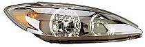 2002 - 2004 Toyota Camry Headlight Assembly (SE + Black) - Right (Passenger)
