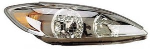 2002-2004 Toyota Camry Headlight Assembly (SE / Black) - Right (Passenger)