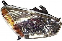 2001 - 2003 Toyota RAV4 Headlight Assembly (without Sport Package + without Bulbs) - Right (Passenger)
