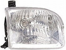 2000 - 2004 Toyota Tundra Pickup Headlight Assembly (Double Cab) - Right (Passenger)