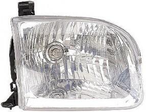 2000-2004 Toyota Tundra Pickup Headlight Assembly (Double Cab) - Right (Passenger)