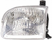 2000 - 2004 Toyota Tundra Pickup Headlight Assembly (Double Cab) - Left (Driver)