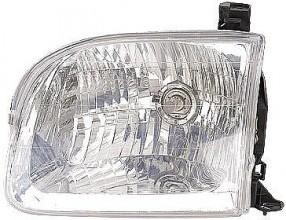 2000-2004 Toyota Tundra Pickup Headlight Assembly (Double Cab) - Left (Driver)
