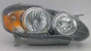 2005-2008 Toyota Corolla Headlight Assembly (S/XRS / USA) - Right (Passenger)