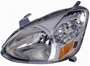2003-2005 Toyota Echo Headlight Assembly - Left (Driver)