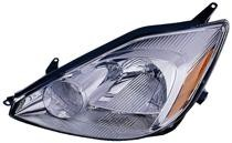 2004 - 2005 Toyota Sienna Front Headlight Assembly Replacement Housing / Lens / Cover - Left (Driver)