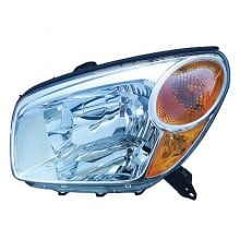 2004-2005 Toyota RAV4 Headlight Assembly - Left (Driver)