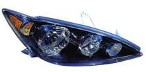 2005 - 2006 Toyota Camry Headlight Assembly (SE + Black + USA) - Right (Passenger)