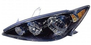 2005-2006 Toyota Camry Headlight Assembly (SE / Black / USA) - Left (Driver)