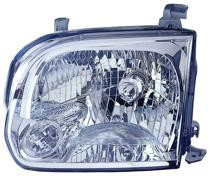 2005 - 2007 Toyota Sequoia Headlight Assembly - Left (Driver)