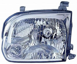 2005-2007 Toyota Sequoia Headlight Assembly - Left (Driver)