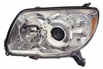 2006 - 2009 Toyota 4Runner Headlight Assembly (Limited/SR5 Model) - Left (Driver)