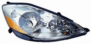 2006-2010 Toyota Sienna Headlight Assembly - Right (Passenger)
