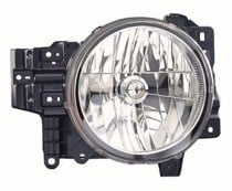 2007 - 2014 Toyota FJ Cruiser Front Headlight Assembly Replacement Housing / Lens / Cover - Right (Passenger)