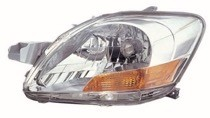 2007 - 2011 Toyota Yaris Front Headlight Assembly Replacement Housing / Lens / Cover - Left (Driver)