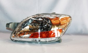 2007-2011 Toyota Yaris Headlight Assembly - Left (Driver)