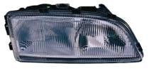1998 - 2000 Volvo S70 Front Headlight Assembly Replacement Housing / Lens / Cover - Right (Passenger)