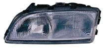 1998 - 2002 Volvo C70 Front Headlight Assembly Replacement Housing / Lens / Cover - Left (Driver)