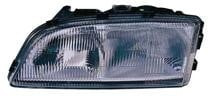 1998 - 2000 Volvo S70 Front Headlight Assembly Replacement Housing / Lens / Cover - Left (Driver)