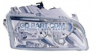 2000-2004 Volvo S40 Headlight Assembly - Right (Passenger)