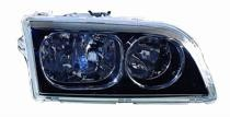 2003 - 2004 Volvo S40 Front Headlight Assembly Replacement Housing / Lens / Cover - Right (Passenger)