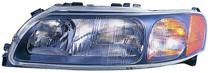 2001 - 2004 Volvo XC70 Front Headlight Assembly Replacement Housing / Lens / Cover - Left (Driver)