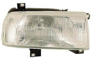 1993-1999 Volkswagen Jetta Headlight Assembly - Right (Passenger)