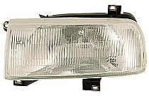1993 - 1999 Volkswagen Jetta Headlight Assembly - Left (Driver)