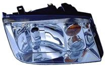 2002 - 2005 Volkswagen Jetta Headlight Assembly (with Fog lamps + Type 4) - Right (Passenger)
