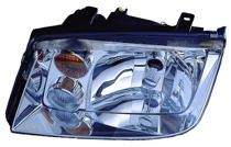 2002 - 2005 Volkswagen Jetta Headlight Assembly (with Fog Lamps + Type 4) - Left (Driver)