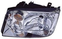 2002 - 2005 Volkswagen Jetta Headlight Assembly (1.9/ 2.0/ 2.8L + without Fog Lamps + without Turbo) - Left (Driver)