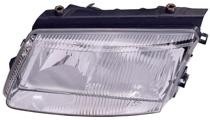 1998 - 2001 Volkswagen Passat Front Headlight Assembly Replacement Housing / Lens / Cover - Left (Driver)