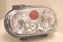 2002 - 2007 Volkswagen Golf + GTI + GTA Headlight Assembly - Left (Driver)