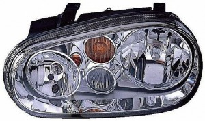 2002-2002 Volkswagen Golf / GTI / GTA Headlight Assembly - Left (Driver)
