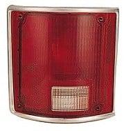 1973-1987 GMC Pickup Tail Light Rear Lamp - Left (Driver)