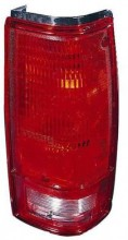 1982 - 1993 GMC Sonoma Rear Tail Light Assembly Replacement (with O Bezel Lens) - Right (Passenger)