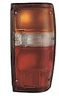 1984 - 1988 Toyota Pickup Tail Light Rear Lamp (Black Lens) - Right (Passenger)