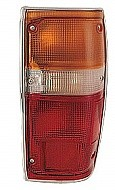 1984 - 1988 Toyota Pickup Tail Light Rear Lamp (with Chrome Lens) - Right (Passenger)
