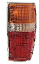 1984-1988 Toyota Pickup Tail Light Rear Lamp (with Chrome Lens) - Right (Passenger)