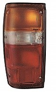 1984 - 1989 Toyota 4Runner Rear Tail Light Assembly Replacement (Black Lens) - Left (Driver)