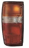 1984 - 1989 Toyota 4Runner Tail Light Rear Lamp (Black Lens) - Left (Driver)
