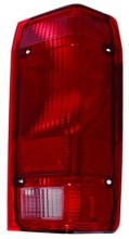 1991 - 1992 Ford Ranger Tail Light Rear Lamp - Right (Passenger)
