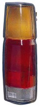 1986 - 1997 Nissan Pickup Rear Tail Light Assembly Replacement / Lens / Cover - Left (Driver)