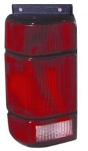 1991 - 1994 Ford Explorer Rear Tail Light Assembly Replacement / Lens / Cover - Right (Passenger)