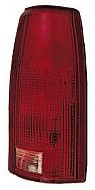 1988 - 2002 Chevrolet Chevy C + K Pickup Tail Light Rear Lamp (Fleetside + C/K + with Connector Plate) - Right (Passenger)